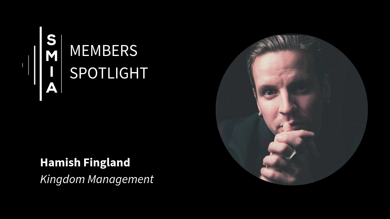 SMIA Members Spotlight Hamish Fingland